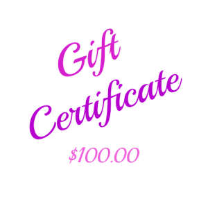 This beautiful $100 Gift Certificate is printed on card and presented in a matching printed envelope ready for gifting. You can arrange for it to be sent to yourself or directly to the lucky recipient with a message from you. Ideal for a Gift idea, Birthday Gift, Christmas Gift, Anniversary Gift or any other Gift giving idea. Keep some on hand for that last minute gift.