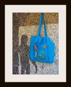 Beach Bag, joint first prize award winner, Bead Guild of WA
