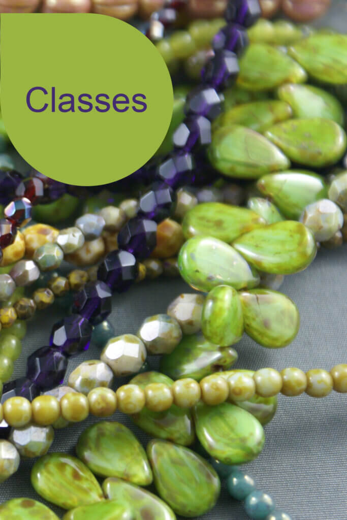Beading classes are available
