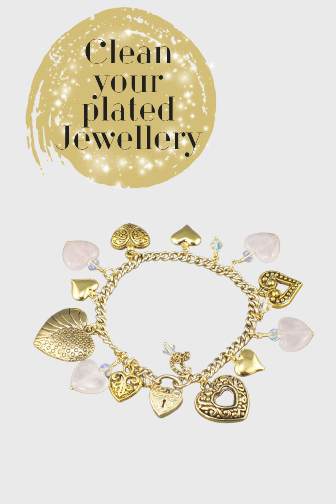 Cleaning plated jewellery has its challenges and one of the best things it to wipe it regularly with a soft cloth after each use to remove body oils and airborne dust or pollutants.