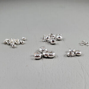 crimp beads and crimp cover bead findings