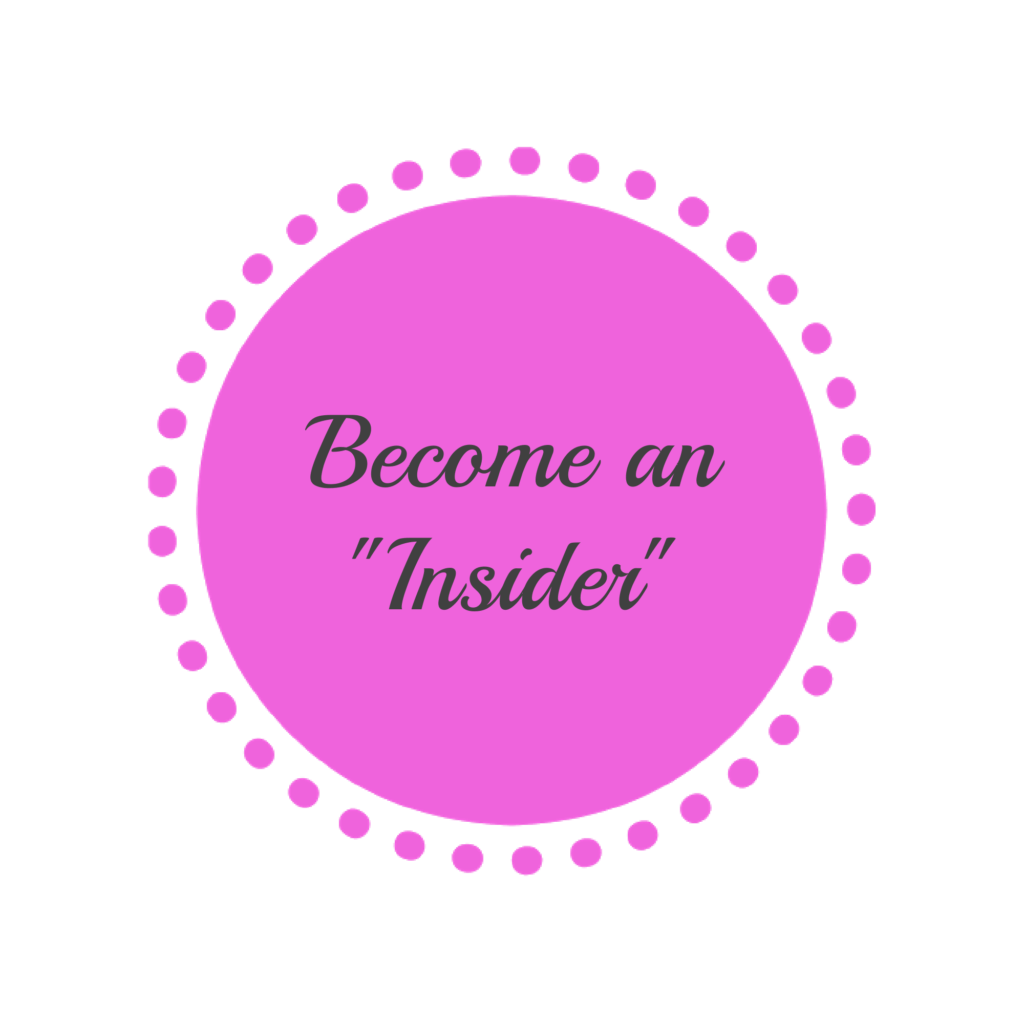 Become an insider join the insider club MaxineFaye