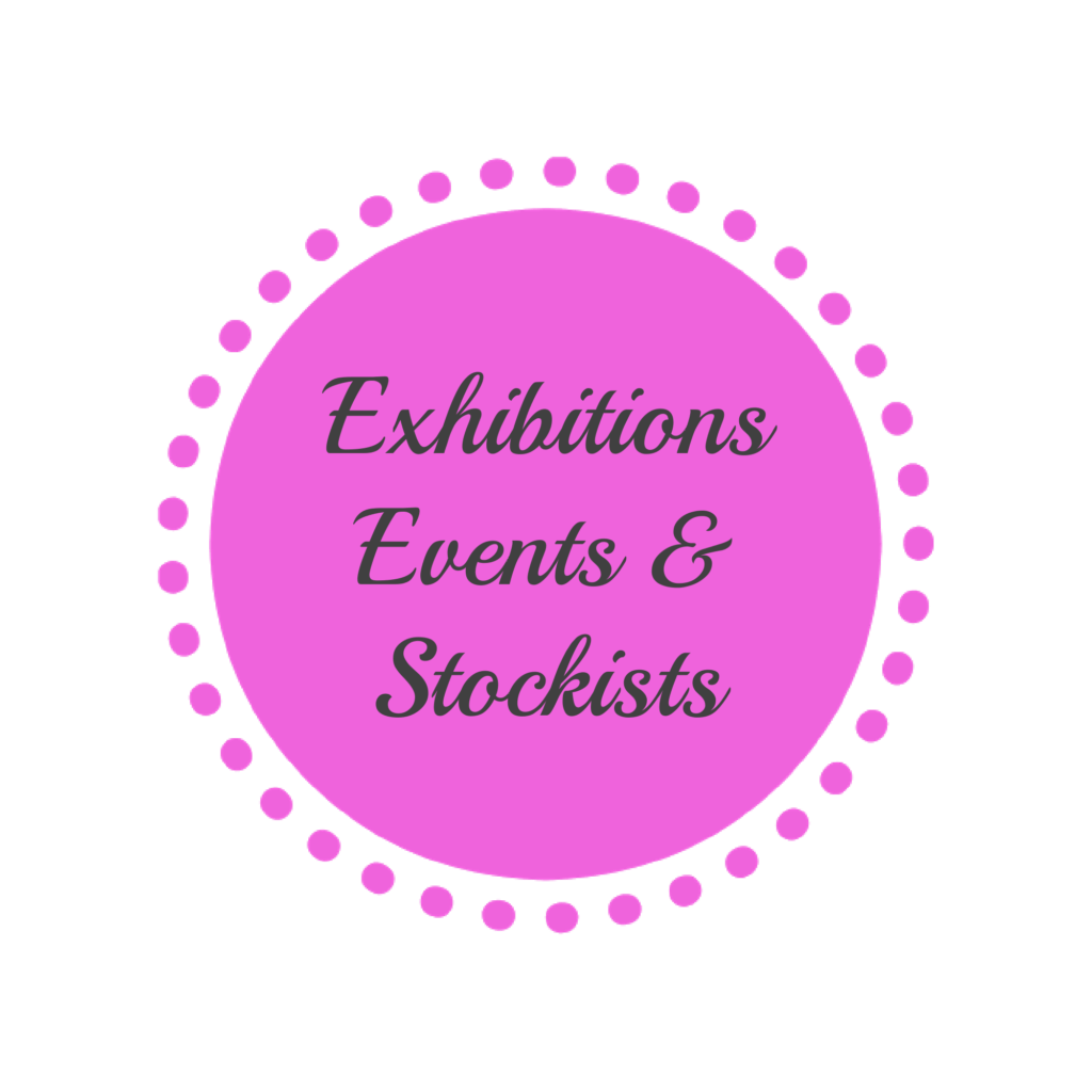 Exhibitions events and stockists MaxineFaye
