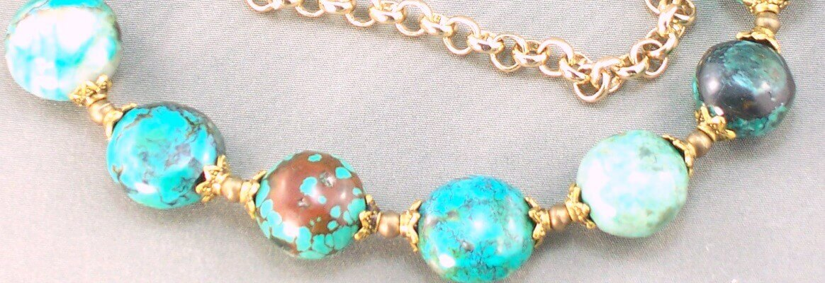 Crysocolla Gemstone necklace