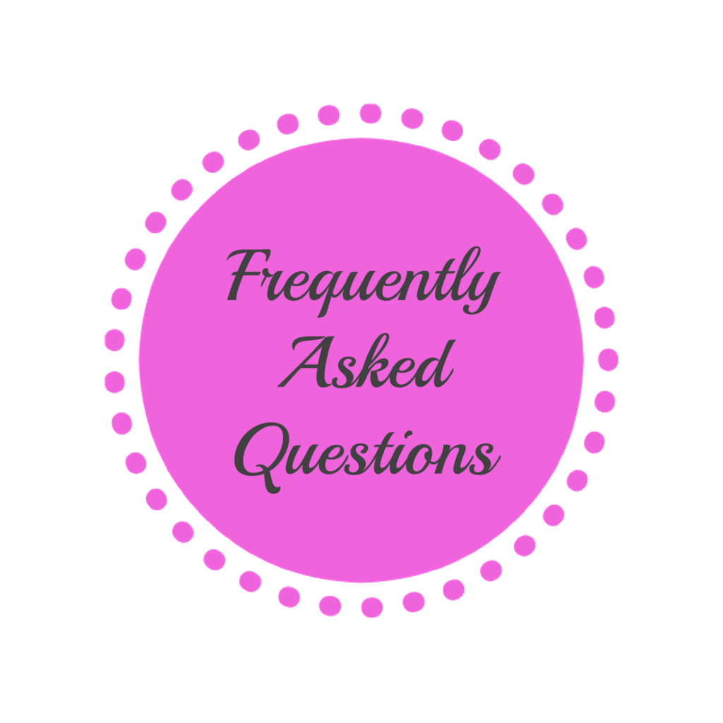 frequently asked questions FAQ's MaxineFaye site map link
