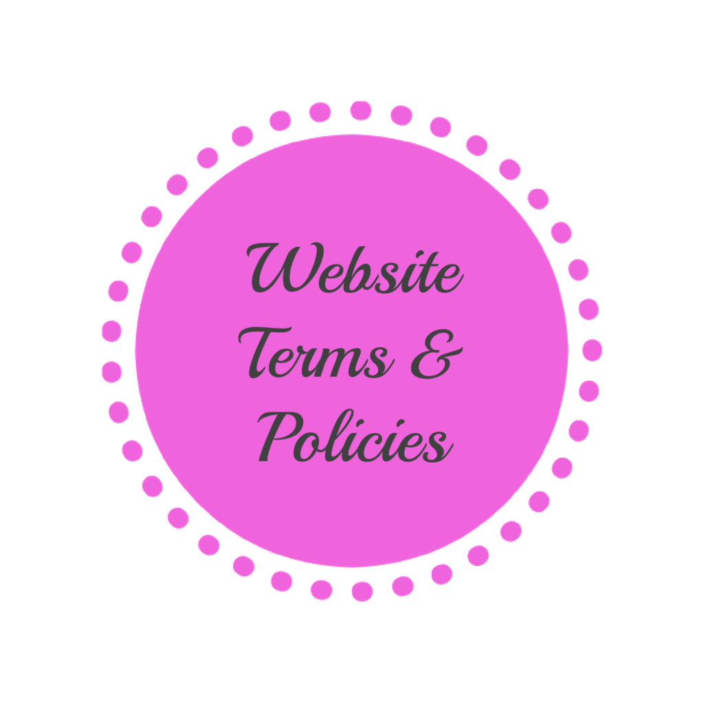 website terms. conditions and privacy policies MaxineFaye site map link