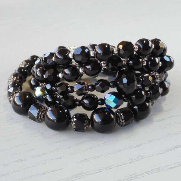 Midnight Bracelet collection stack
