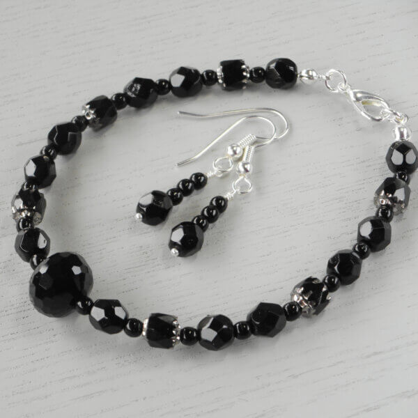 Victoria Bracelet and Earrings