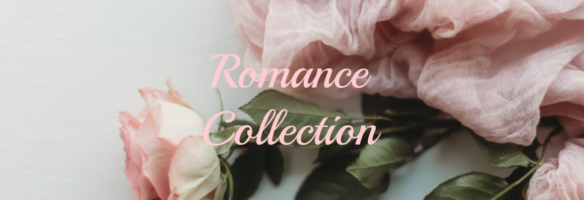 Romance Collection caters to the feminine. It is filled with crystals and pearls for all those special occasions.