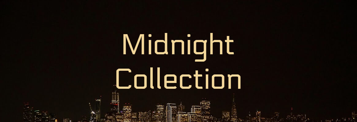 The Midnight Collection is filled with mystery and intrigue. Perfect for adding to a little black dress and dancing the night away.