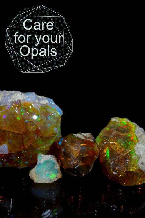 Care for opal gems