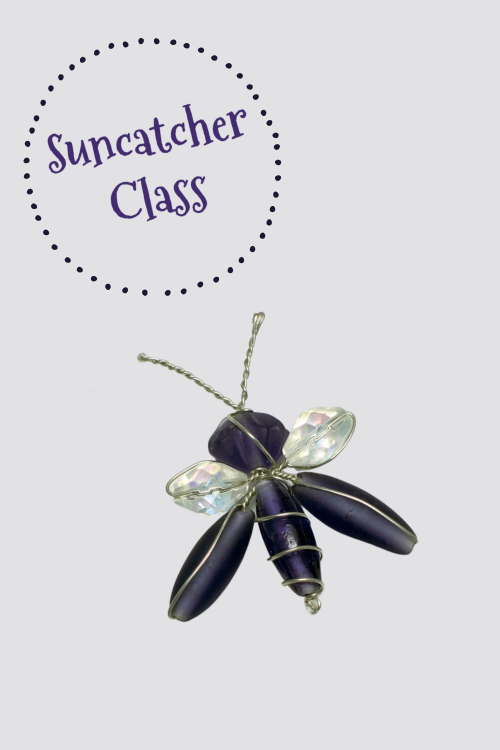 Suncatcher brooch decoration bug dragonfly butterfly classes