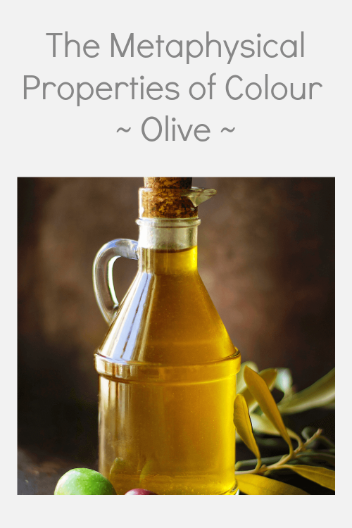 Olive colour properties