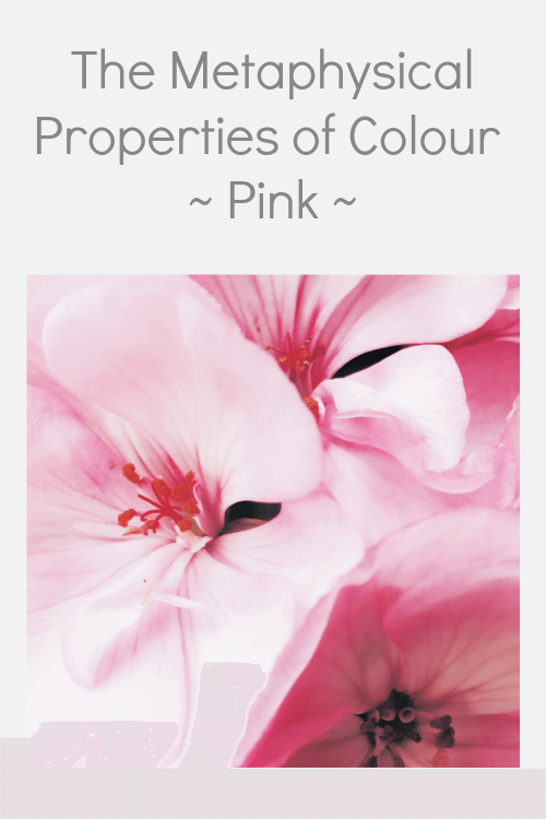 Pink colour properties