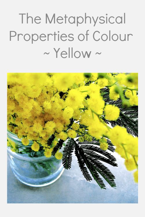 Yellow colour properties